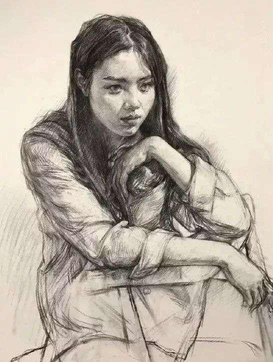 不想素描带手半身像成为你的弱项!一定要看杭州画室集训班整理这篇,05
