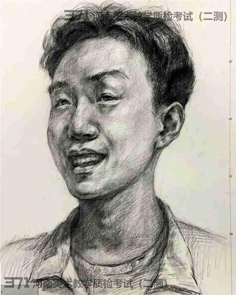 为更好的打磨自己,杭州画室集训班分享2021届河南省二模高分卷,33