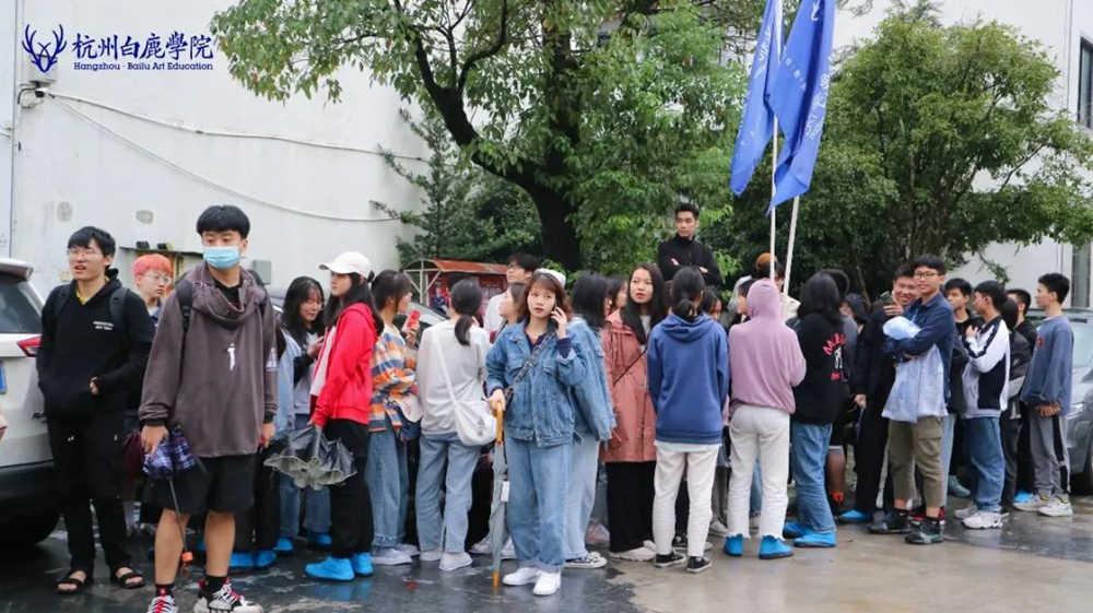杭州艺考画室白鹿写生季 | 画画的Baby们安全抵达写生地啦,25