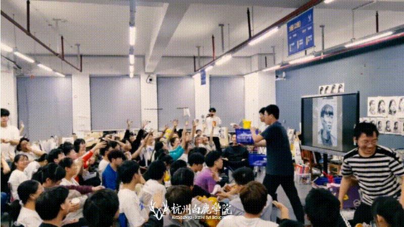 这个双节,杭州艺考画室白鹿学院陪你们过,10