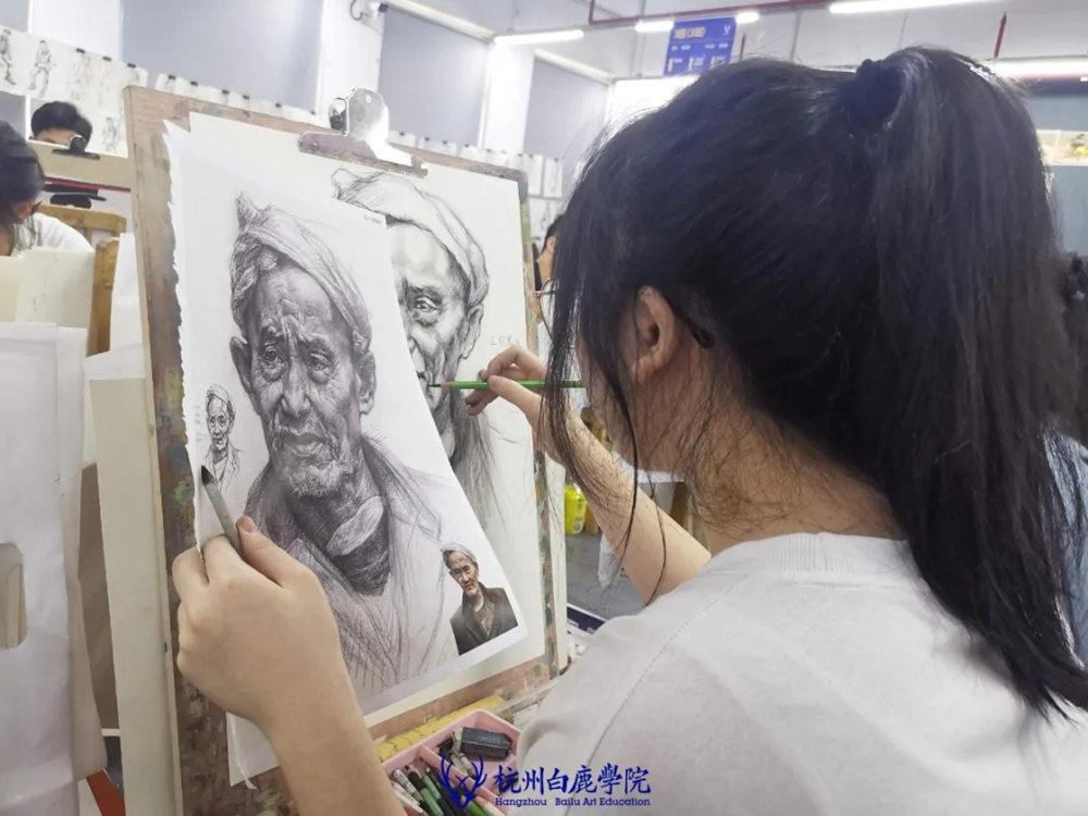 杭州白鹿日常 | 你说艺考美术生考大学很容易?你来试一试,33