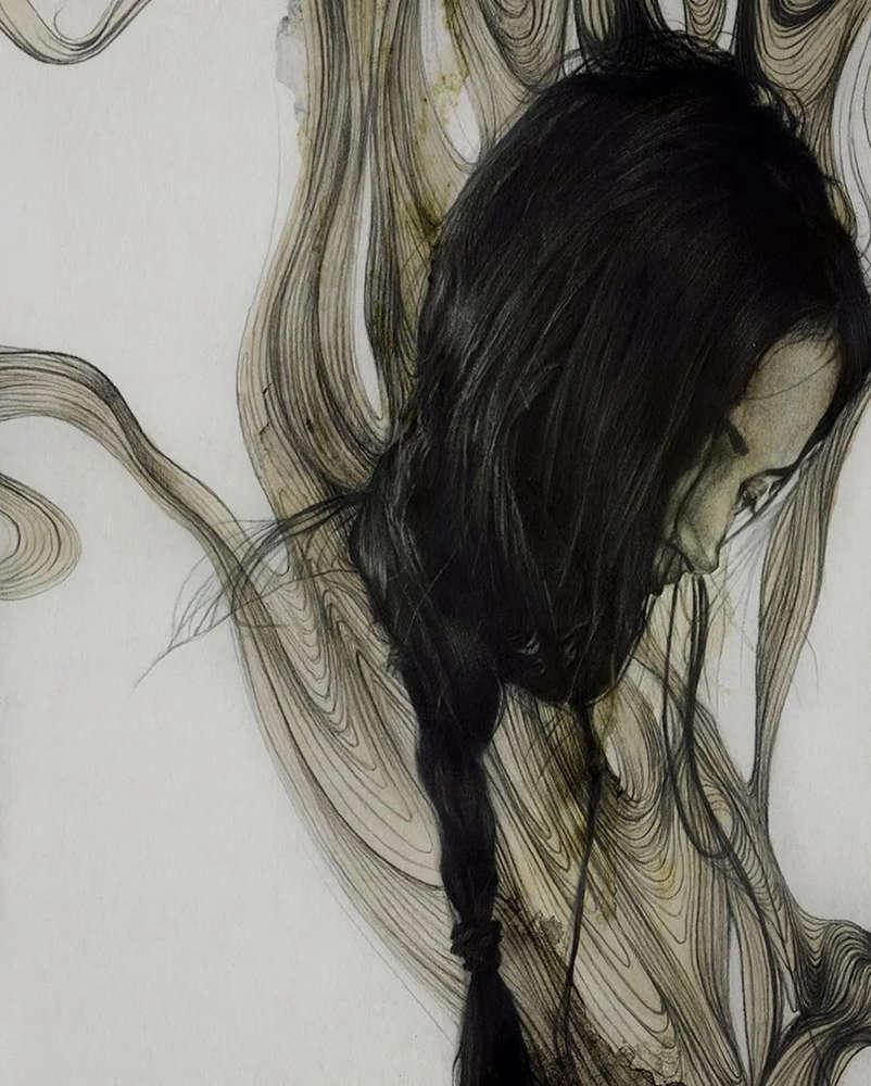大神的素描,画的就是感觉,杭州艺考画室带你领略,10