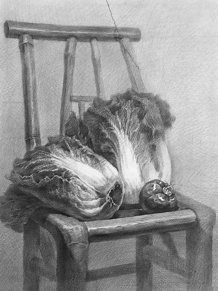 杭州白鹿画室,杭州画室,杭州素描美术培训,18