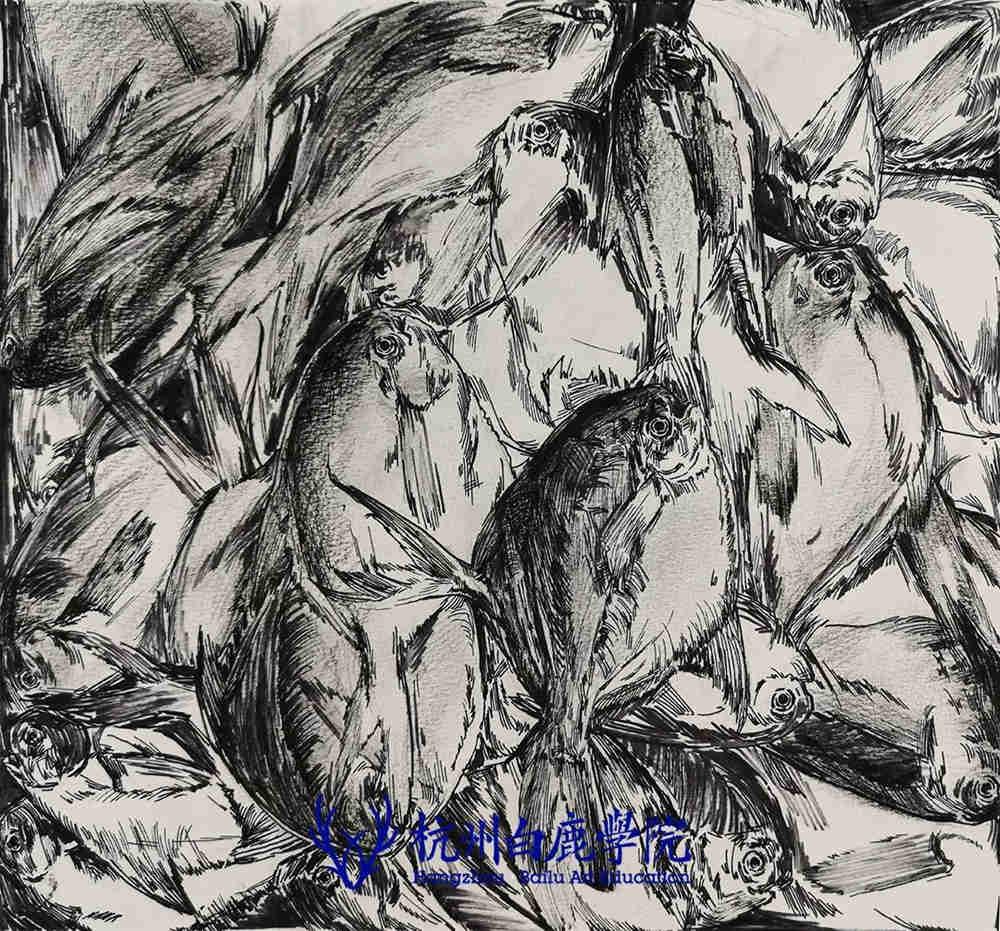 杭州艺考画室写生季 | 杭州白鹿学院下乡写生通知及注意事项,64