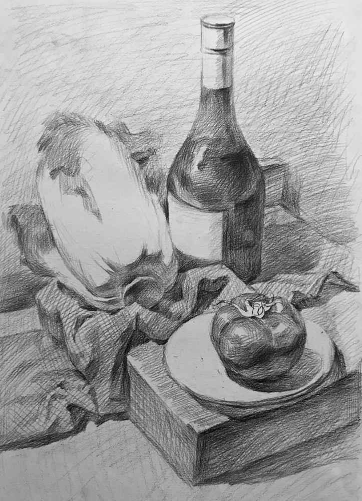 杭州白鹿画室,杭州画室,杭州素描美术培训,13