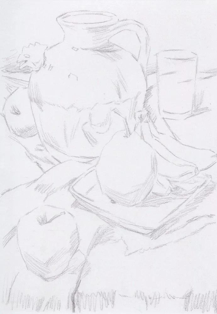 静物素描太难,杭州艺考画室整理的详细教程在里面,13
