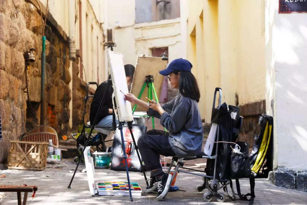 杭州艺考画室写生季 | 杭州白鹿学院下乡写生通知及注意事项,34