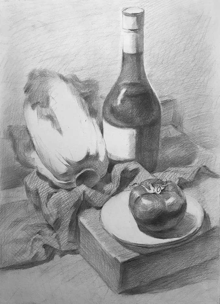 杭州白鹿画室,杭州画室,杭州素描美术培训,12