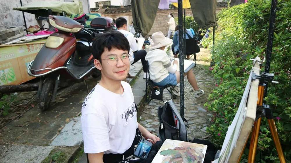 杭州艺考画室白鹿写生季 | 秋天的第一场写生未完待续,52