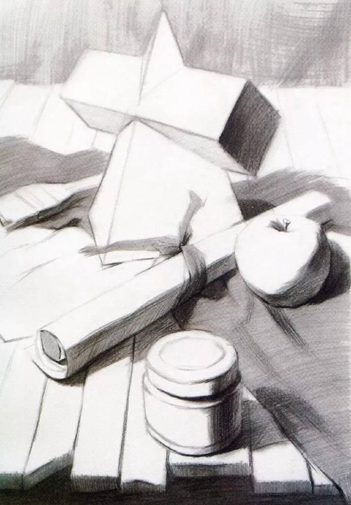 静物素描太难,杭州艺考画室整理的详细教程在里面,10