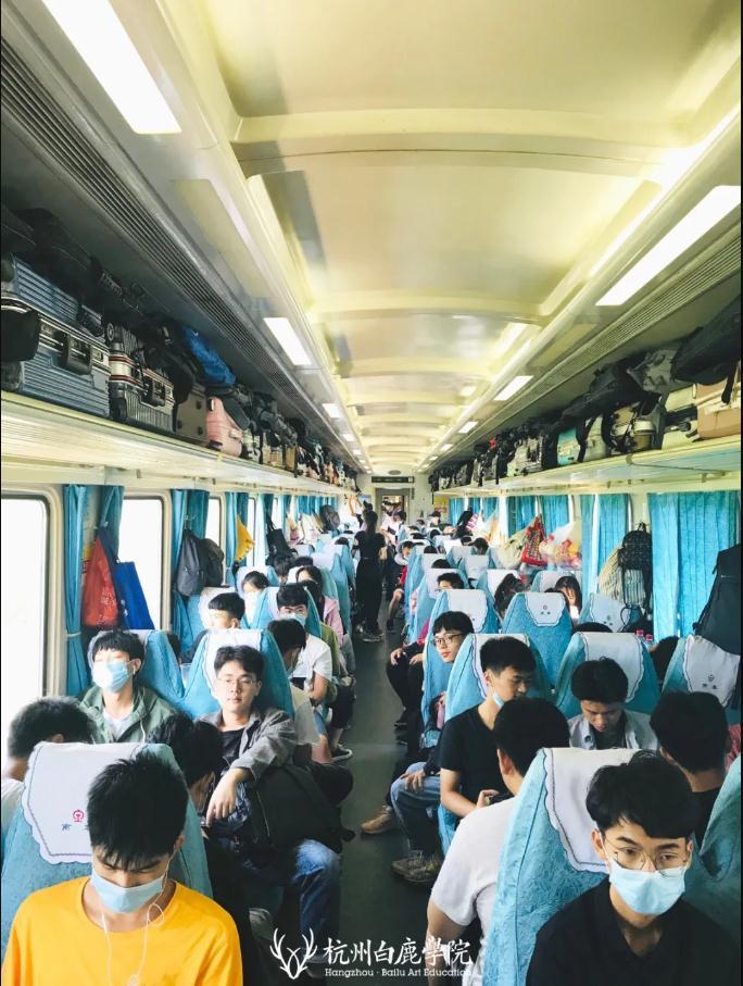 小鹿们请注意,列车前方到站杭州白鹿画室,02