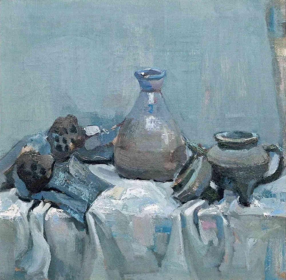 杭州艺考画室给你整理了难得一见的广美基础部收藏级色彩作品,16