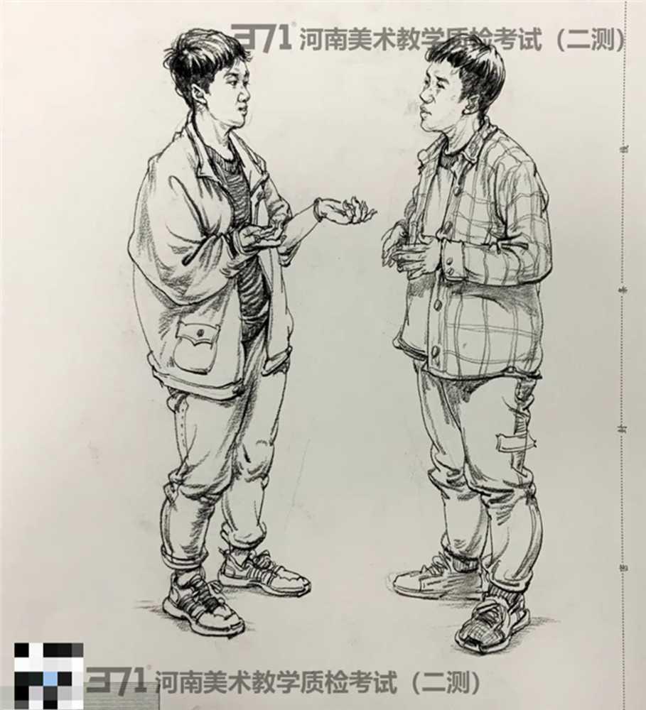 为更好的打磨自己,杭州画室集训班分享2021届河南省二模高分卷,10