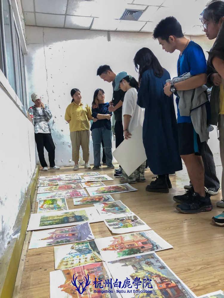 杭州艺考画室白鹿写生季 | 秋天的第一场写生未完待续,17