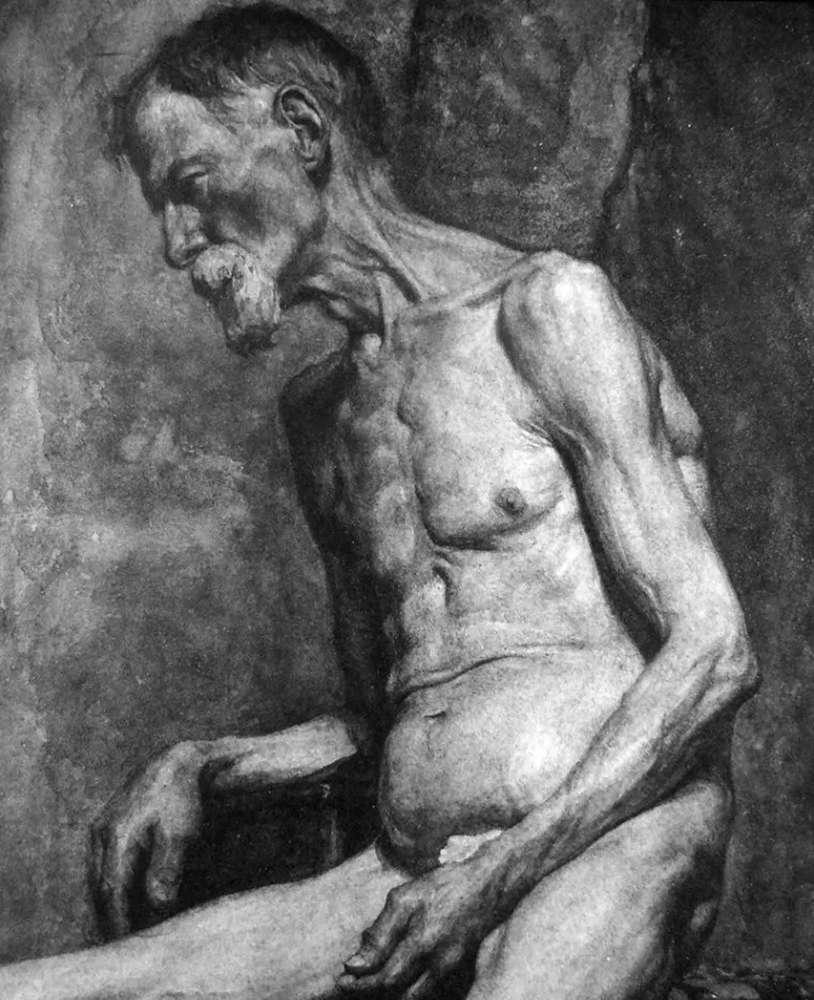 杭州艺考画室给你造型生动,百看不厌的62幅人体素描,11