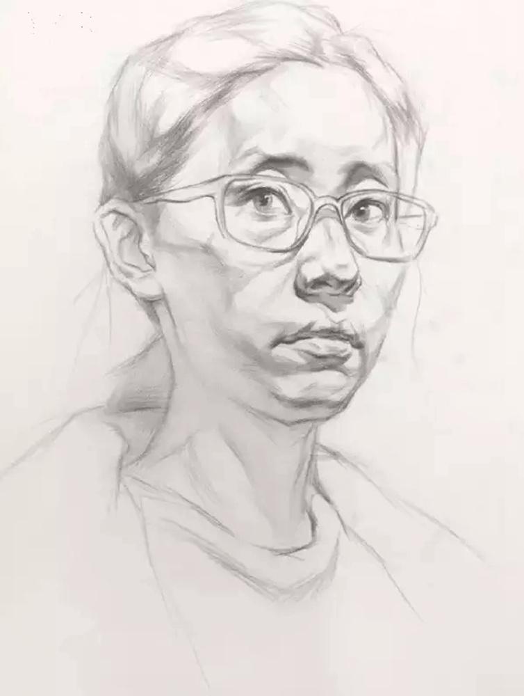 这么实用素描头像结构教程,杭州艺考画室都给你搞来了,17