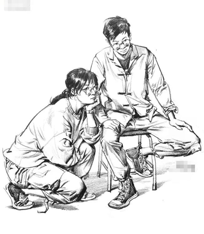 为何别人的速写画的那么好?杭州美术培训班帮你分析原因,01