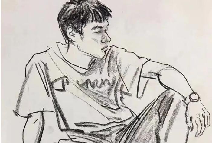 杭州画室集训班速写名师——袁兴芳作品集