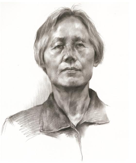 杭州艺考画室教你素描头像刻画之老中青的皮肤质感如何表现,03