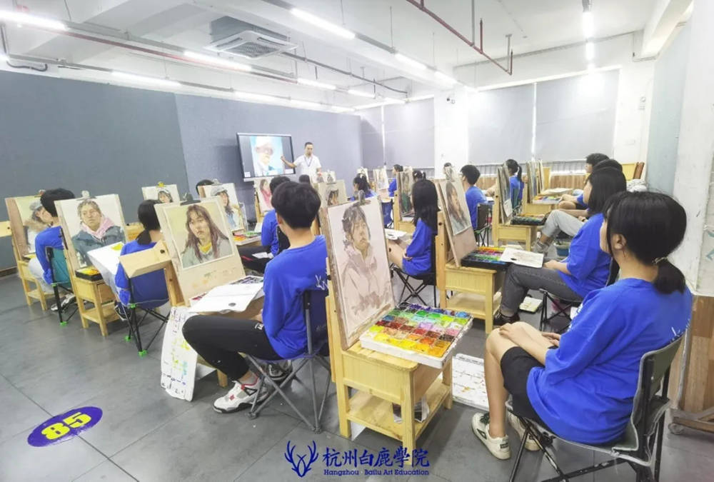 杭州艺考画室日常 | 你说美术生考大学很容易?要不你来试一试,06