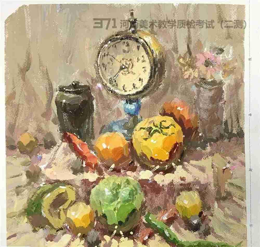 为更好的打磨自己,杭州画室集训班分享2021届河南省二模高分卷,47