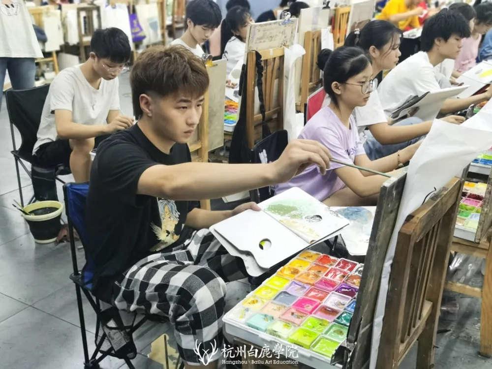 杭州白鹿日常 | 你说艺考美术生考大学很容易?你来试一试,37