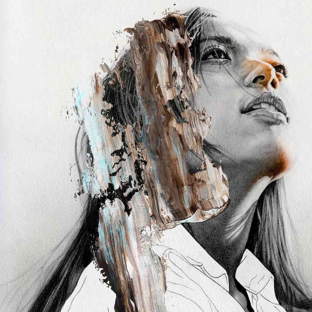 大神的素描,画的就是感觉,杭州艺考画室带你领略,48
