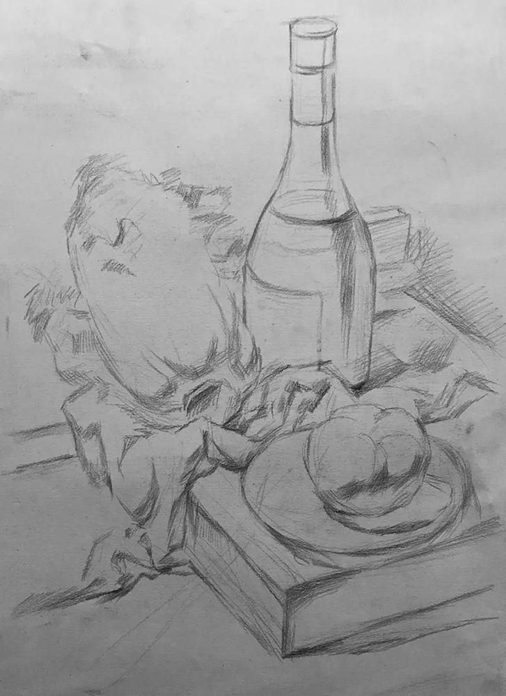杭州白鹿画室,杭州画室,杭州素描美术培训,11