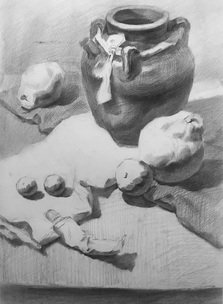 杭州白鹿画室,杭州画室,杭州素描美术培训,09