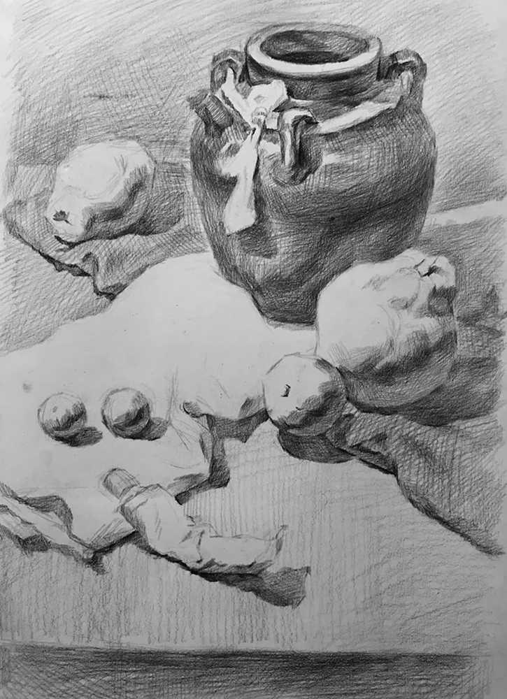 杭州白鹿画室,杭州画室,杭州素描美术培训,08