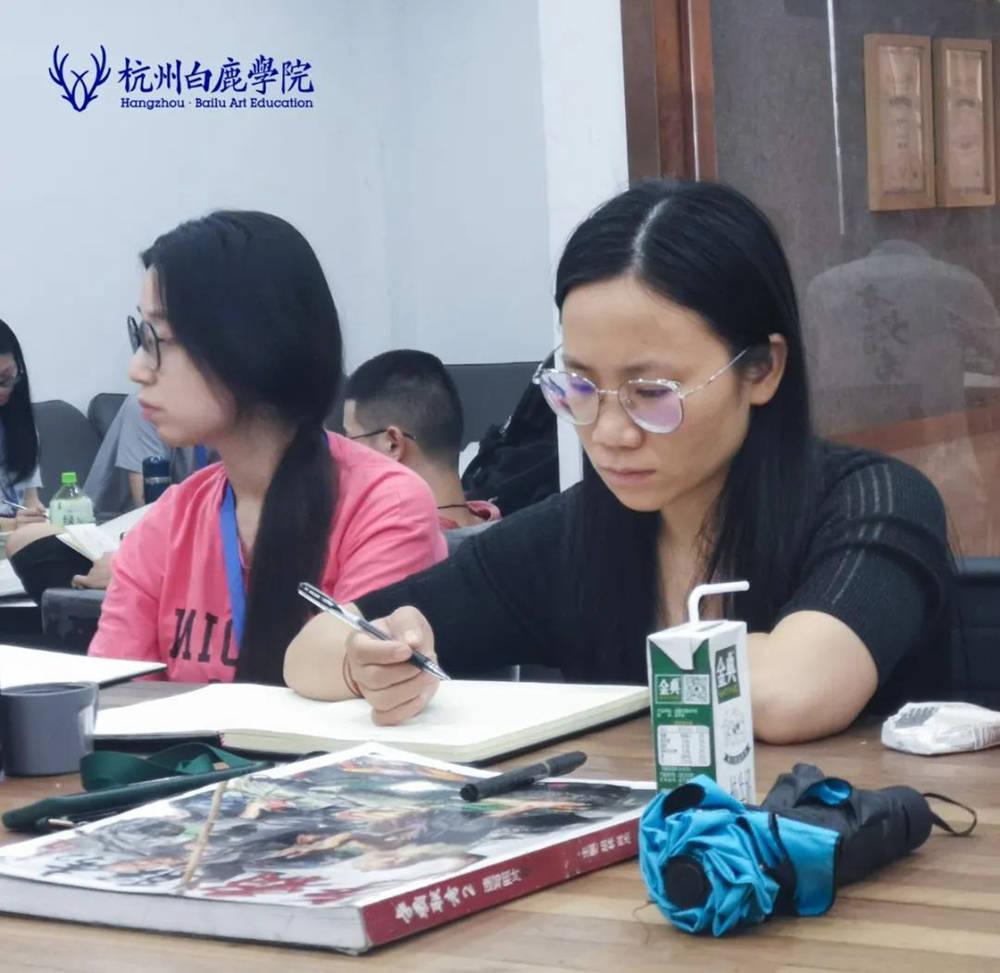 来吧,展示!杭州艺考画室白鹿八月月考进行中,41