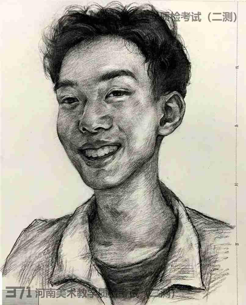 为更好的打磨自己,杭州画室集训班分享2021届河南省二模高分卷,41