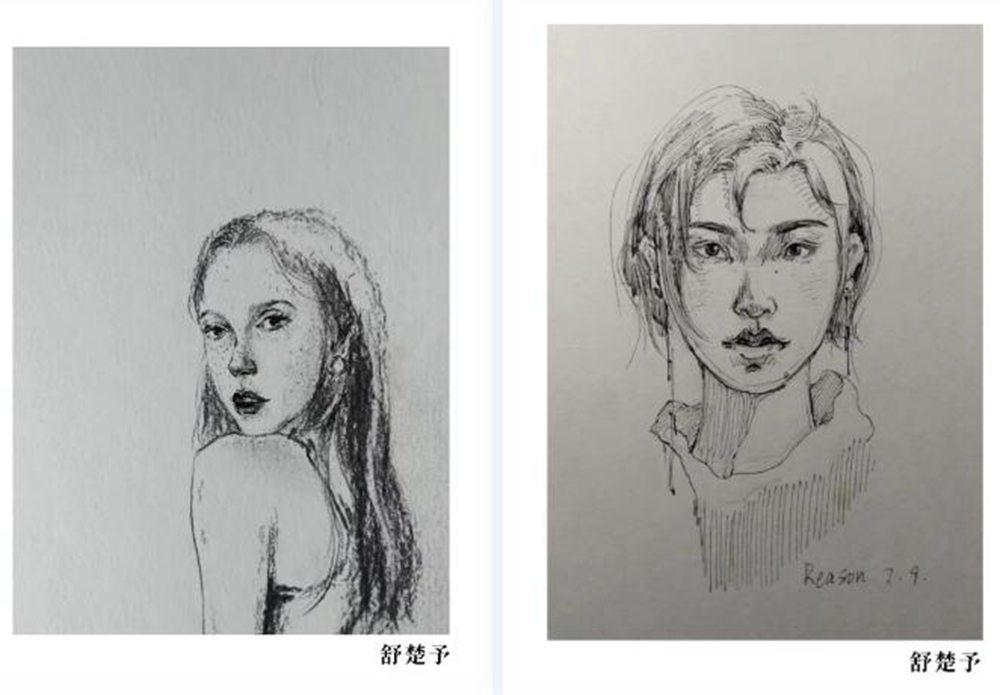 杭州美术培训班优秀学员:舒楚予,08