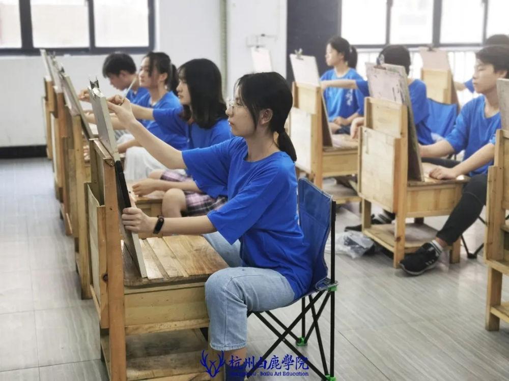 杭州白鹿日常 | 你说艺考美术生考大学很容易?你来试一试,10
