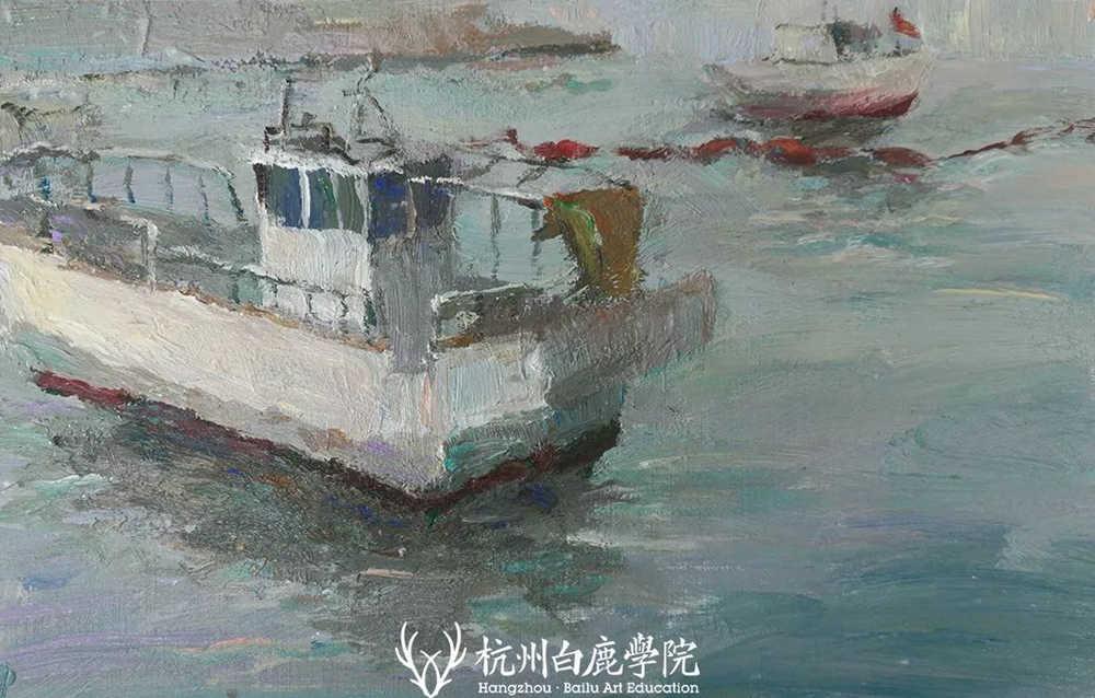 杭州艺考画室写生季 | 杭州白鹿学院下乡写生通知及注意事项,38