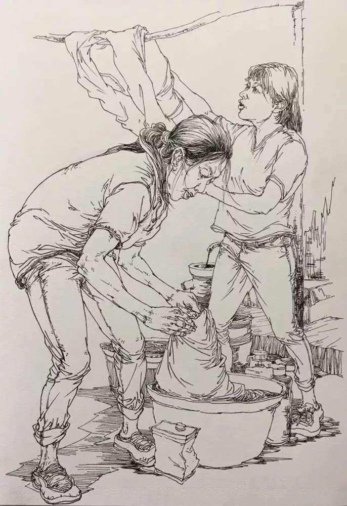 杭州艺考画室,杭州美术画室,杭州画室速写培训,06