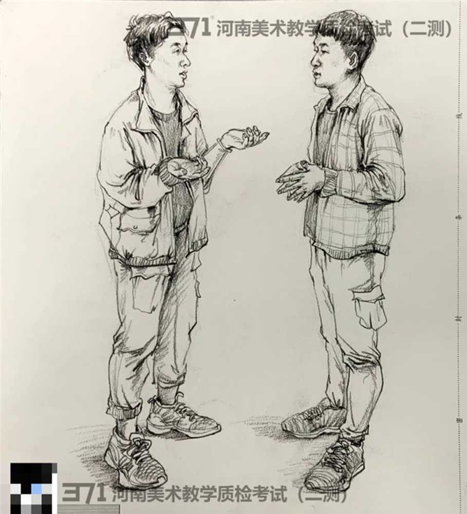 为更好的打磨自己,杭州画室集训班分享2021届河南省二模高分卷,15