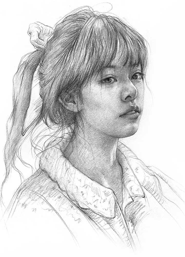 杭州艺考画室给你整理了神韵素描,看看这扎实的功底,15