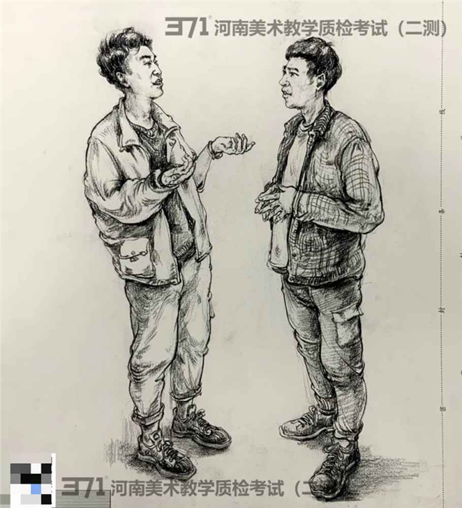 为更好的打磨自己,杭州画室集训班分享2021届河南省二模高分卷,12