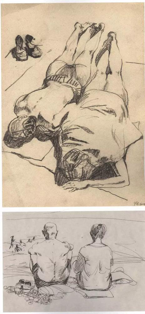 杭州艺考画室作品欣赏 | 那线条,那笔触!绘画基础教学速写,25